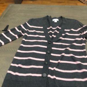 Ann Taylor loft large petite sweater cardigan